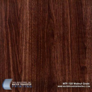 WTP-105 Walnut Grain Hydrographic Film
