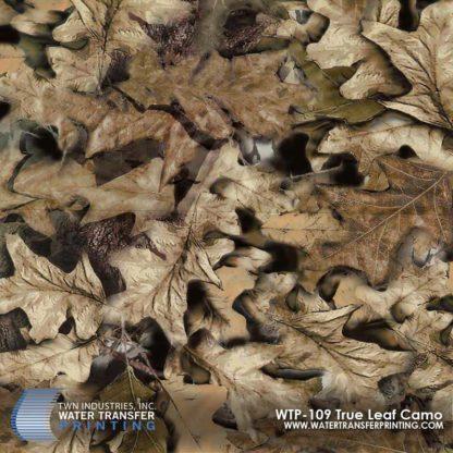 WTP-109 True Leaf Camo Hydrographic Film