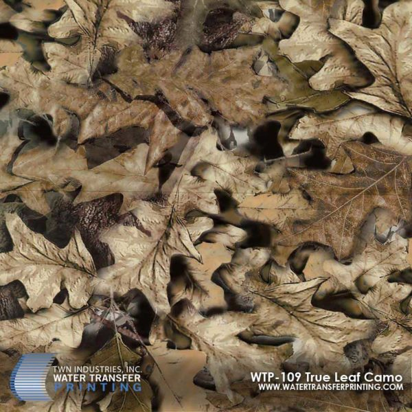 WTP-109 True Leaf Camo Hydrographic Film