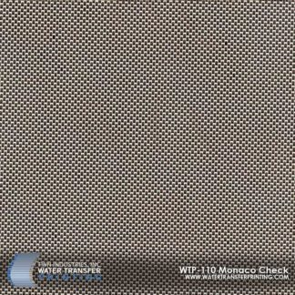 WTP-110 Monaco Check Hydrographic Film