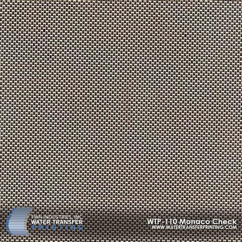WTP-110 Monaco Check Hydrographic Film