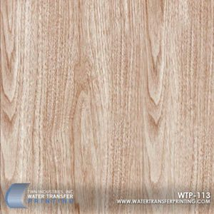 WTP-113 Wood Grain Hydrographic Film