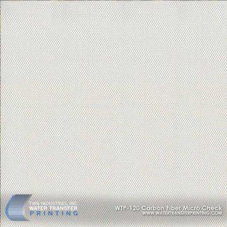 WTP-120 Carbon Fiber Micro Check Hydrographic Film