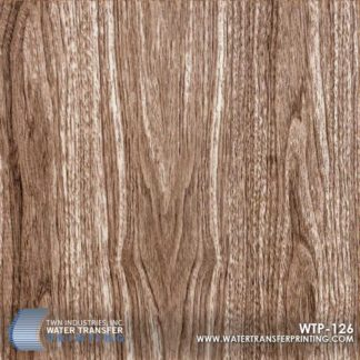 WTP-126 Smokey Walnut Grain Hydrographic Film