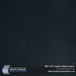 WTP-127 Carbon Fiber Check Hydrographic Film