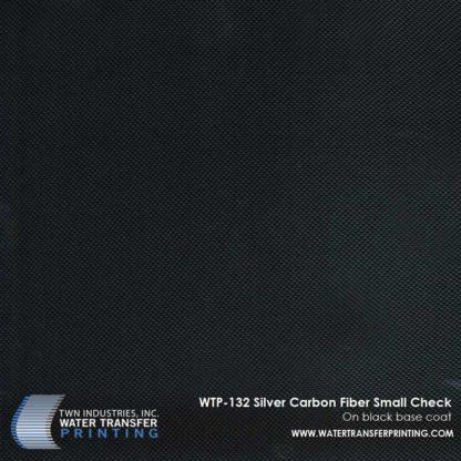 WTP-132 Carbon Fiber Small Check Hydrographic Film