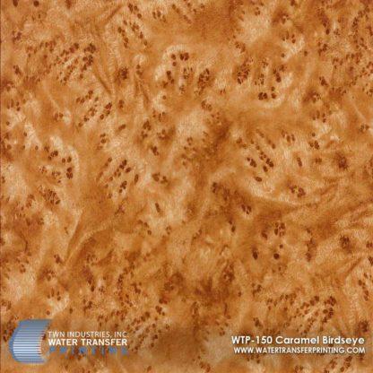 WTP-150 Caramel Birdseye Hydrographic Film