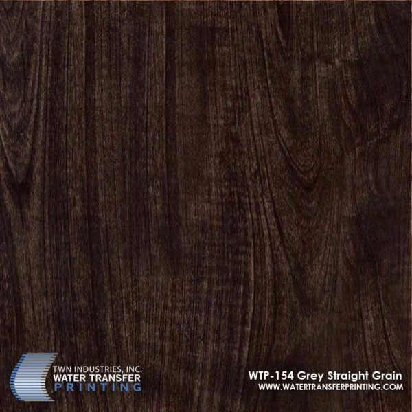 WTP-154 Grey Straight Grain Hydrographic Film