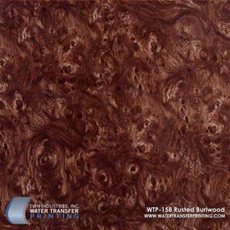 WTP-158 Rusted Burlwood Hydrographic Film