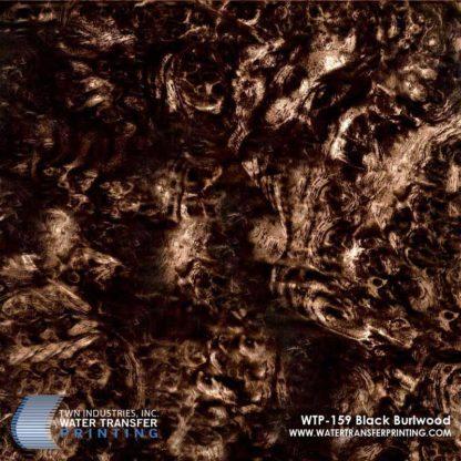 WTP-159 Black Burlwood Hydrographic Film