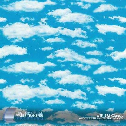 WTP-175 Clouds Hydrographic Film
