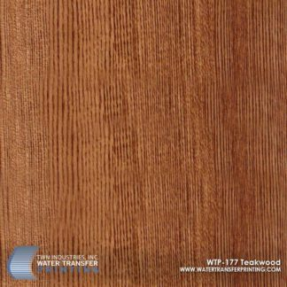 WTP-177 Teakwood Hydrographic Film