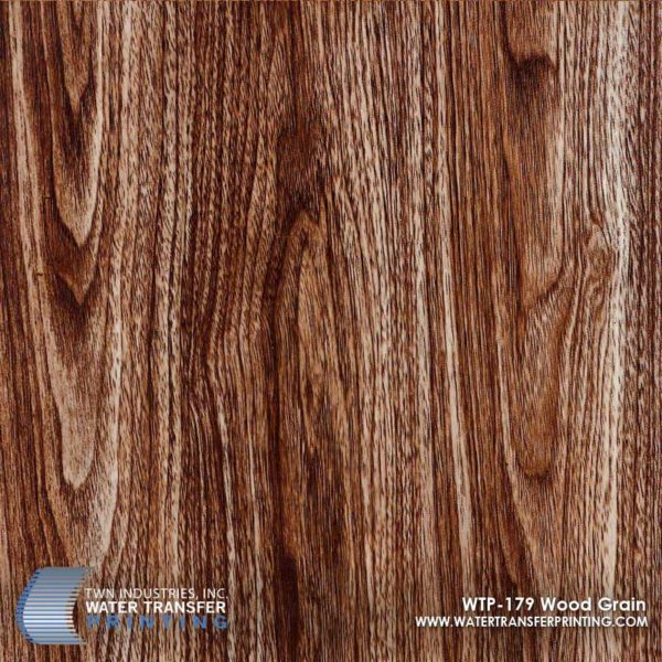 WTP-179 Wood Grain Hydrographic Film
