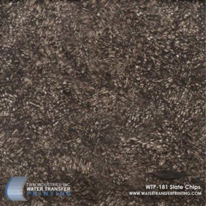 WTP-181 Slate Chips Hydrographic Film