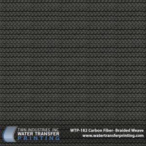 WTP-182 Carbon Fiber Braided Weave Hydrographic Film