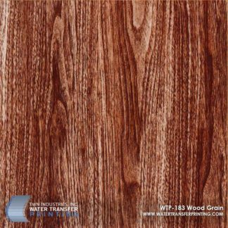 WTP-183 Wood Grain Hydrographic Film