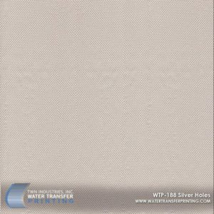 WTP-188 Silver Holes Hydrographic Film