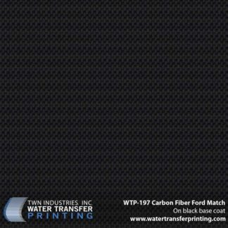 WTP-197 Carbon Fiber Ford Match Hydrographic Film