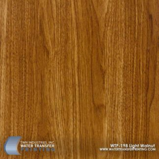 WTP-198 Light Walnut Hydrographic Film