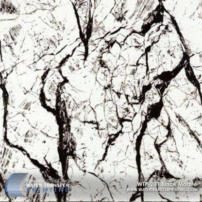 WTP-201 Black Vein Hydrographic Film