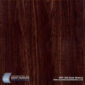 WTP-203 Dark Walnut Hydrographic Film