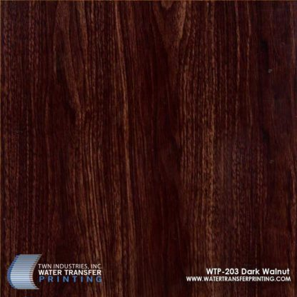 WTP-203 Dark Walnut Hydrographic Film