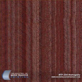 WTP-204 Mahogany Hydrographic Film