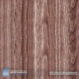 WTP-208 ECI Walnut Match Hydrographic Film