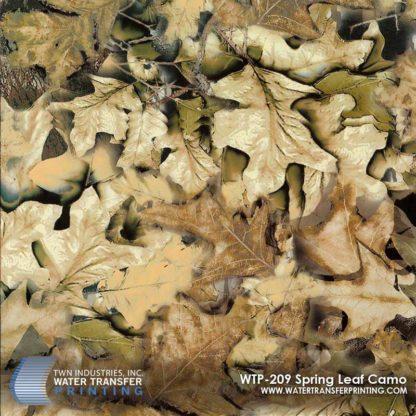 WTP-209 Spring Leaf Hydrographic Film