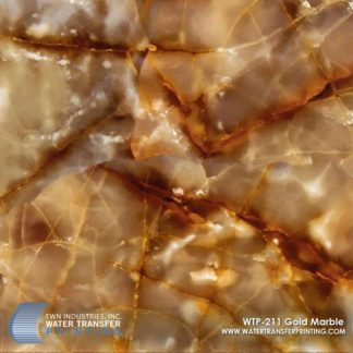WTP-211 Gold Marble Hydrographic Film