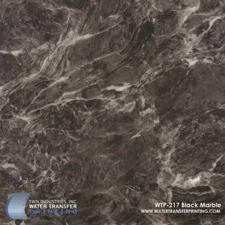 WTP-217 Black Marble Hydrographic Film