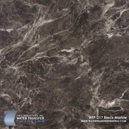 WTP-217 Black Marble Hydrographic Film