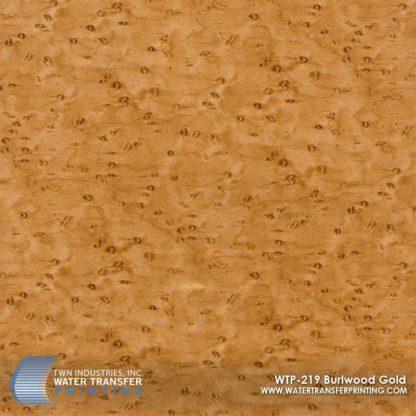 WTP-219 Burlwood Gold Hydrographic Film