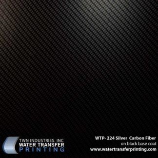 WTP-224 Silver Carbon Fiber Hydrographic Film