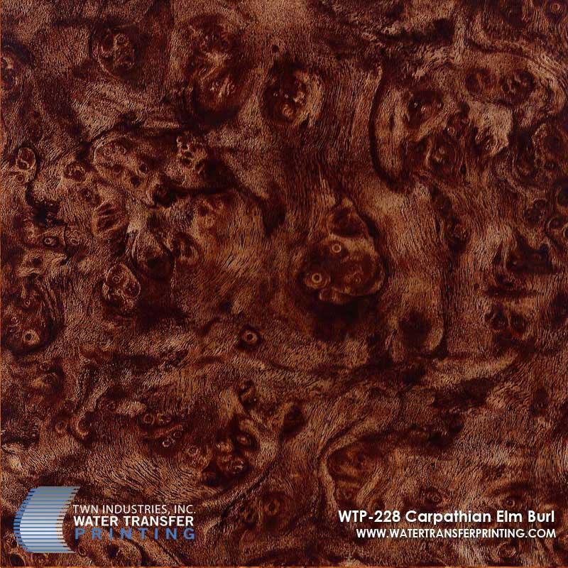 WTP-228 Carpathian Elm Burl Hydrographic Film