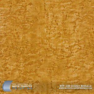WTP-238 Golden Birdseye Hydrographic Film