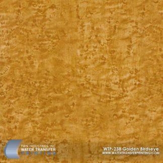 WTP-238 Golden Birdseye Hydrographic Film