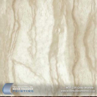 WTP-239 Grey Marble Hydrographic Film