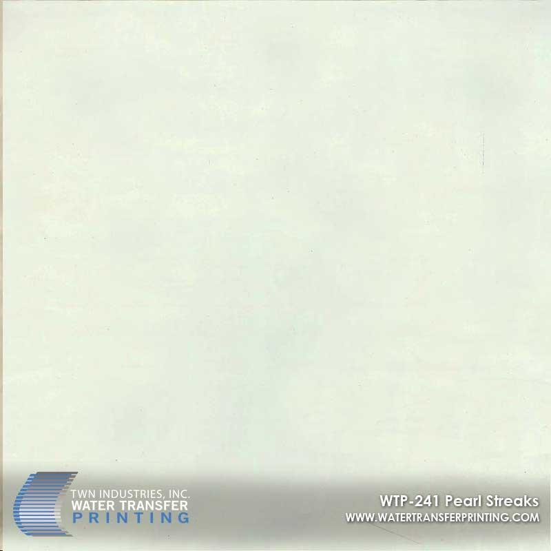 WTP-241 Pearl Streaks Hydrographic Film