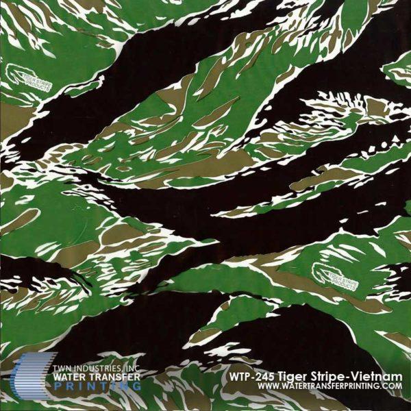 WTP-245 Tiger Stripe Vietnam Hydrographic Film