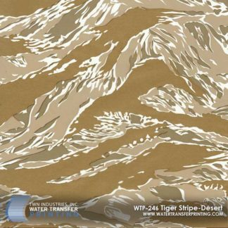 WTP-246 Tiger Stripe Desert Hydrographic Film