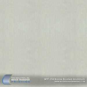 WTP-254 Bronze Brushed Aluminum Hydrographic Film