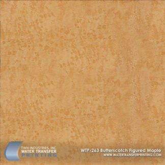 WTP-263 Butterscotch Figured Maple Hydrographic Film