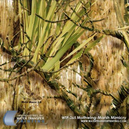 WTP-265 Mothwing Marsh Mimicry Hydrographic Film