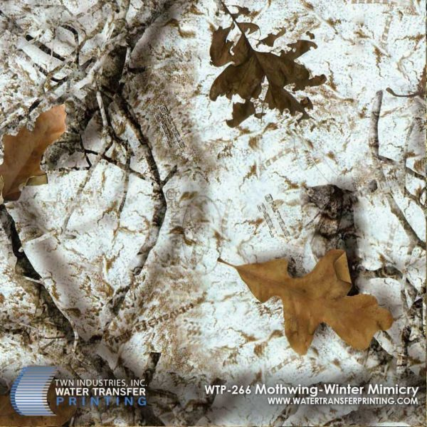 WTP-266 Mothwing Winter Mimicry Hydrographic Film
