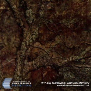 WTP-267 Mothwing Canyon Mimicry Hydrographic Film