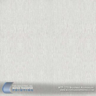 WTP-270 Brushed Aluminum Hydrographic Film