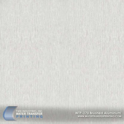 WTP-270 Brushed Aluminum Hydrographic Film