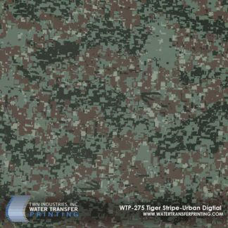 WTP-275 Tiger Stripe Urban Digital Hydrographic Film