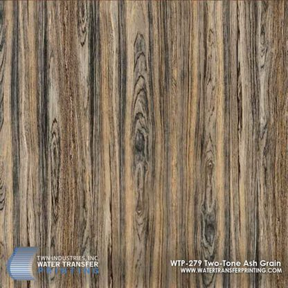 WTP-279 Two-Tone Ash Grain Hydrographic Film